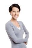 Jeune femme souriante photos libres de droits