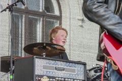 Jeune festival Halden (Norvège) 15 de culture au 18 avril 2015 Image libre de droits