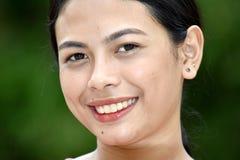 Jeune Filipina Female de sourire photos libres de droits