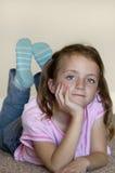 Jeune fille Images libres de droits