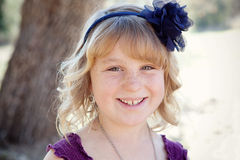 Jeune fille Photographie stock