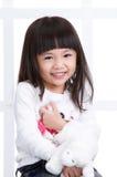 Jeune fille asiatique Image libre de droits