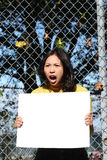 Jeune fille asiatique image stock
