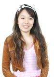 Jeune fille asiatique attirante Images stock