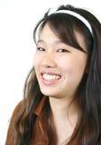 Jeune fille asiatique attirante Images libres de droits