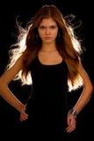 Jeune fille attirante Images stock