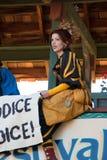Jeune fille au festival de la Renaissance de l'Arizona Image libre de droits