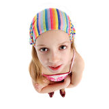 Jeune fille avec le Bandana Image libre de droits