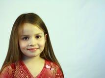 Jeune fille avec le sourire Image libre de droits