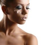 Jeune fille avec une peau propre Image stock
