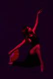 Jeune fille, ballerine, Photographie stock