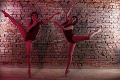Jeune fille, ballerine, Image stock