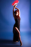Jeune fille, ballerine, Images stock