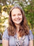 Jeune fille d'adolescent de portrait Image libre de droits