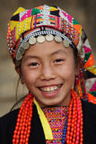 Jeune fille d'Akha, Phongsaly, Laos Photo libre de droits