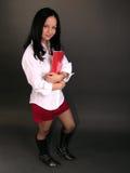 Jeune fille d'université Images stock