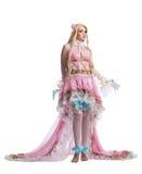 Jeune fille dans le costume cosplay de poupée de conte de fées Photographie stock