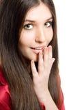 Jeune fille de brunette Image stock