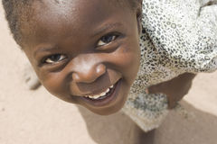 Jeune fille de Chewa Photographie stock libre de droits