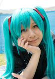 Jeune fille de Cosplay Photo stock