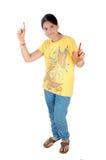 Jeune fille de danse Photo libre de droits