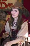 Jeune fille de danse de festival de la Renaissance de l'Arizona Images libres de droits