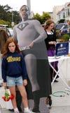Jeune fille de Dissapointed devant Barak Obama Images libres de droits