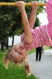 Jeune fille de lieu de visites Photographie stock libre de droits