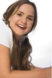 Jeune fille de sourire photographie stock