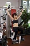 Jeune fille en gymnastique Image stock