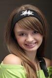 Jeune fille gaie Photo stock