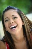 Jeune fille heureuse Images stock
