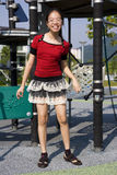 Jeune fille heureuse Photos libres de droits