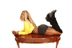 Jeune fille jamaïquaine   Images stock