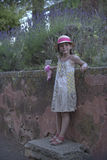 Jeune fille mignonne photographie stock