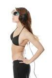 Jeune fille moderne de danseur Photographie stock