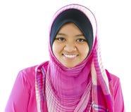 Jeune fille musulmane Photo stock