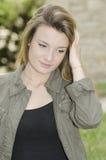 Jeune fille romantique Images libres de droits