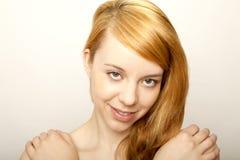 Jeune fille rousse Photos stock