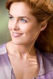 Jeune fille, souriant Photos stock