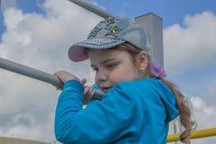 Jeune fille sportive Photos libres de droits