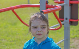 Jeune fille sportive Image libre de droits