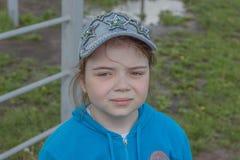 Jeune fille sportive Photo libre de droits