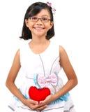 Jeune fille Valentine II Photos libres de droits
