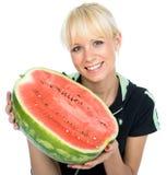 Jeune fruit-cultivateur Photo stock