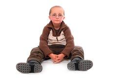 Jeune garçon. Image libre de droits