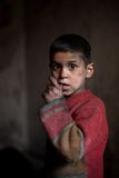 Jeune garçon, Alep, Syrie. Images libres de droits