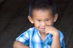 Jeune garçon asiatique Photographie stock libre de droits