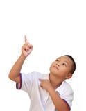 Jeune garçon asiatique mignon Photographie stock libre de droits