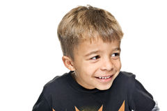 Jeune garçon heureux Image libre de droits